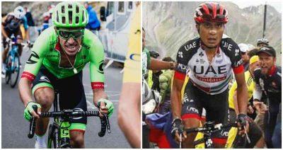 533191 1 - Colombianos notables: Atapuma segundo en la etapa y Rigo tercero en el podio