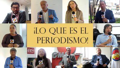 final entrevistas - ¿Cómo viven la labor los periodistas?