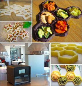 FoodiniUpdates 287x300 - Las impresoras 3D ya imprimen comida y pronto estarán en las cocinas