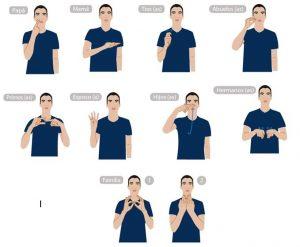 af8d5ee318da92d86936ff0bdf822764 sign language javier 300x247 - Colegios deberán recibir a cualquier estudiante con discapacidad