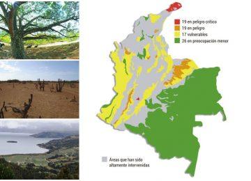 lista roja 360x260 - El 46 % de los ecosistemas de Colombia están en riesgo