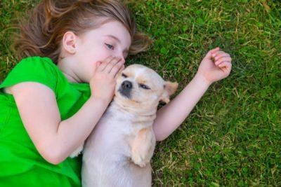 niña habla perro mediatrends 600x400 - Prepárate: en 10 años podremos hablar con nuestras mascotas