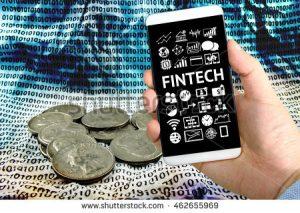 stock photo fintech investment financial internet technology concept businessman hand holding smartphone 462655969 1 300x213 - Estos son los beneficios de profundizar la relación entre tecnología y sector financiero