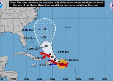 1505889381 480929 1505919855 noticia normal recorte1 1 360x260 - Así es la trayectoria del huracán María