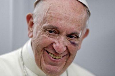 636407375524305251 - Entre emoción y alegría, papa evocó en el Vaticano su paso por Colombia