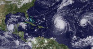 c2 5 300x159 - Irma, Katia y José: ¿es normal que haya tres huracanes activos a la vez en el Atlántico?
