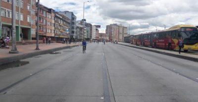 caminata bicileta y transporte publico en domingo en bogota - Viajar por la ciudad en domingo