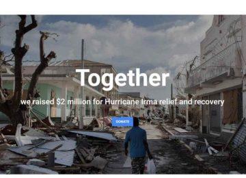 capture 360x260 - Google recauda $2 millones para damnificados por el huracán Irma