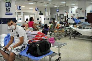 Hospital. Sala Urgencias 300x199 - Ley de cansancio en la salud