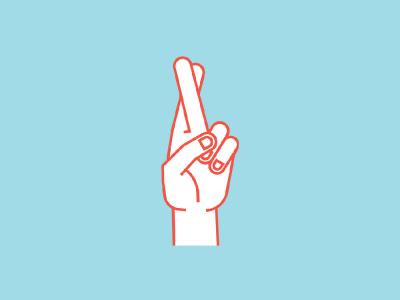 cruzar los dedos con ajuste web - Dejando de cruzar los dedos