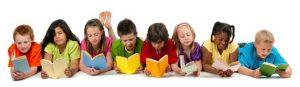 ninos leyendo 300x87 - El mes de los libros para niños y jóvenes