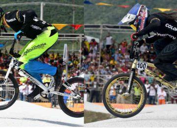 547771 1 360x260 - Mariana Pajón y Carlos Ramírez, oro en el BMX de los Juegos Bolivarianos