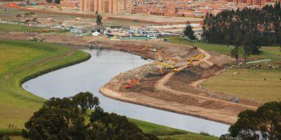 5a02417c0c322 - Los trabajos que buscan que el río Bogotá no vuelva a desbordarse