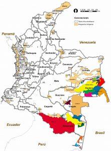 mapa resguardosdane2009 221x300 - Revelan mapa que enciende alarmas sobre el daño ambiental en el país