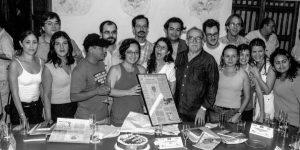 participantes de un taller de la fnpi  cartagena 1999  foto archivo fnpi 300x150 - Centro Gabo, para todos los colombianos
