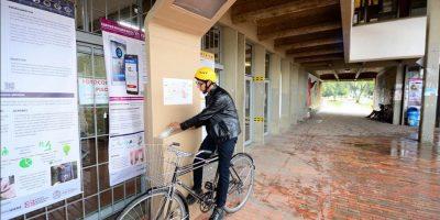 5a34603e96a3e - Estudiantes diseñan paraderos para hidratarse en bici sin bajarse