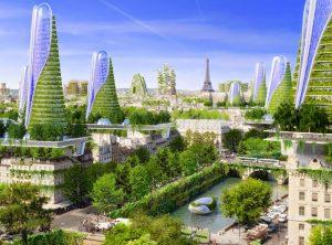 Proyecto Futurista para Paris Ciudades Inteligentes Edificios Verdes1 300x222 - Clima le abre opción de negocios a Colombia por US$ 195.000 millones