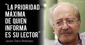 darío 300x160 - La reinvención del periodismo, según Javier Darío Restrepo