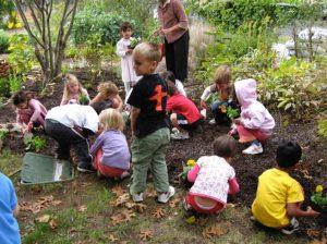 aprendiendo desde edades tempras a cuidar la naturaleza 300x224 - El jardinero de Suba que tiene 7.500 plantas