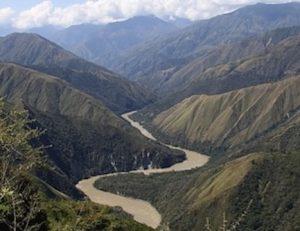 Cañon rio Cauca 300x231 - Por los Ríos Vivos y por la gente