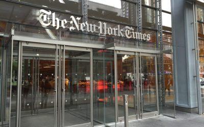 NYT entrada 2 1080x675 - The New York Times aumenta sus suscriptores digitales, ingresos y beneficios en el primer trimestre de 2018