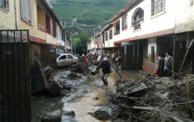 lluvia san gil - Continúa la alerta por fuertes lluvias en Santander