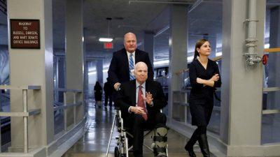 1535124030 274494 1535133372 noticia fotograma - El senador republicano John McCain, enfermo de cáncer, deja de recibir tratamiento