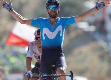 alejandrovalverdeespana vuelta oficial 360x260 - Valverde ganó la segunda etapa de la Vuelta a España; Nairo entra al top 10