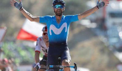 alejandrovalverdeespana vuelta oficial - Valverde ganó la segunda etapa de la Vuelta a España; Nairo entra al top 10