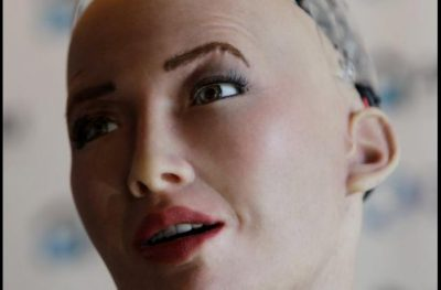 robot sophia - Sophia, la robot humanoide que está de visita en Cartagena