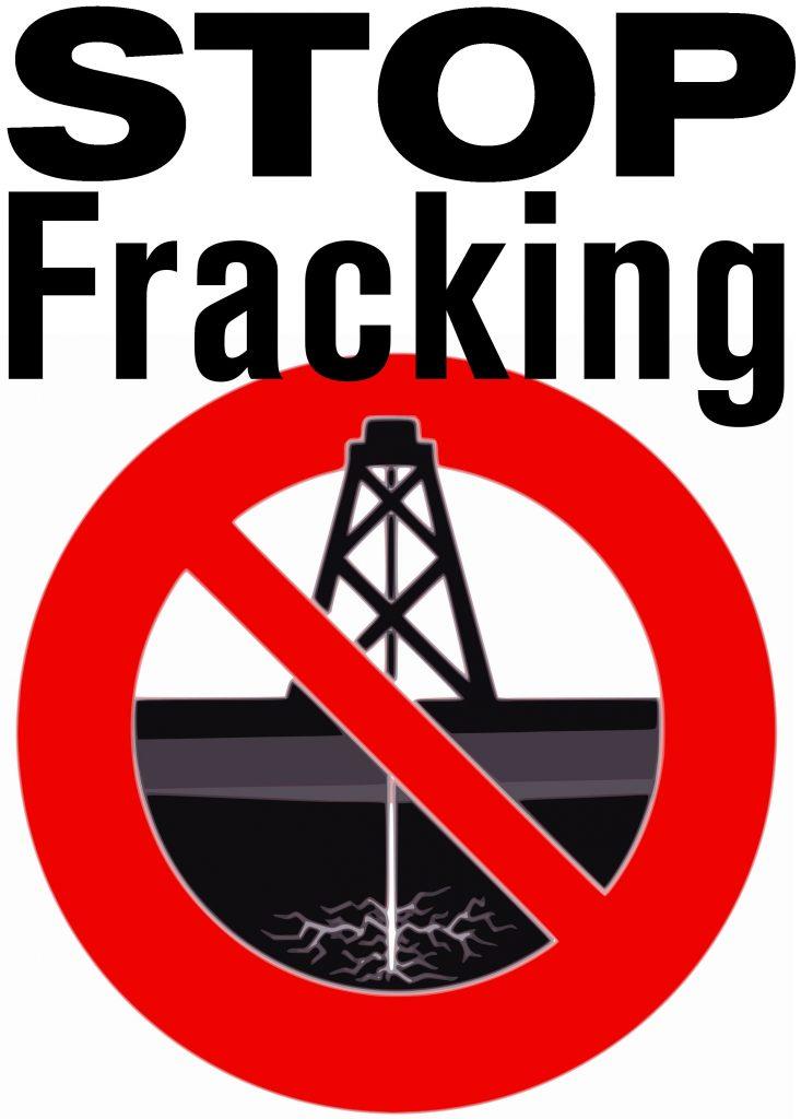 """stop fracking 733x1024 - La información sobre el """"fracking"""""""