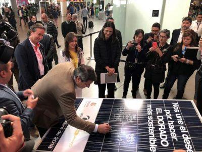 5ba50a21f1bae - El aeropuerto El Dorado se iluminará con energía solar