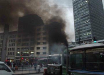 """aire bogota 360x260 - Científicos analizaron durante un año el aire """"enfermo"""" de Bogotá"""