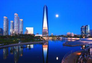 songdo 300x204 - Songdo, la ciudad sin autos diseñada en Corea del Sur