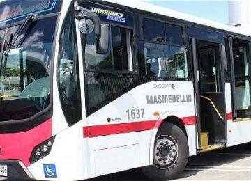 589fcc5ed1446 360x260 - Presentaron en Medellín los primeros buses anticontaminantes