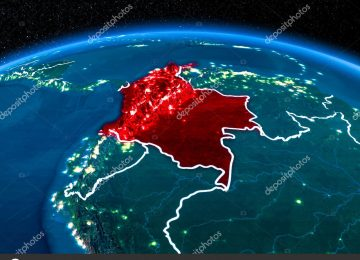 depositphotos 189108150 stock photo colombia from space at night 360x260 - Así transformará el cambio climático a Colombia