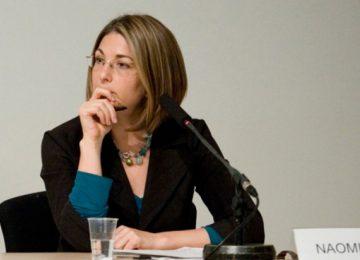 """naomi klein 360x260 - Naomi Klein: """"Los políticos son el gran obstáculo ante el cambio climático"""""""