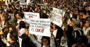 529675 1 300x158 - Nuevas marchas por la paz este lunes en Colombia
