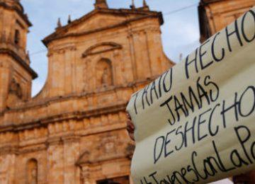 ei e1552825566346 598x264 360x260 - Nuevas marchas por la paz este lunes en Colombia