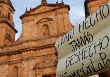 ei e1552825566346 598x264 380x264 - Nuevas marchas por la paz este lunes en Colombia