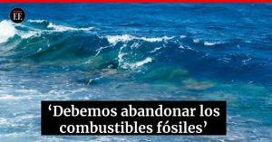 """61246787 1601156006684235 5898087268278599680 n 300x157 - """"Sin los océanos la temperatura del planeta sería diez veces mayor"""": Christopher Sabines"""