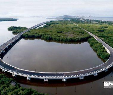 puente 3 0 380x320 - Dos premios a un puente que respetó la Ciénaga de la Virgen