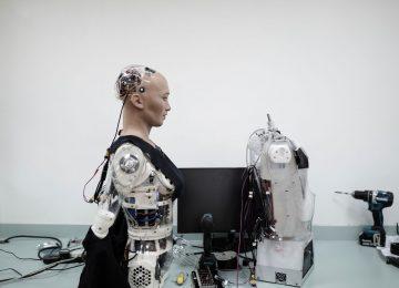 12 sophia gds Sophia D029 360x260 - El robot humanoide Sofía, único en el mundo//YouTube//Foto:Hanson Robotics.com