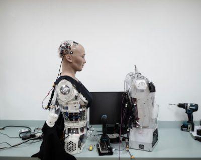 12 sophia gds Sophia D029 - El robot humanoide Sofía, único en el mundo//YouTube//Foto:Hanson Robotics.com