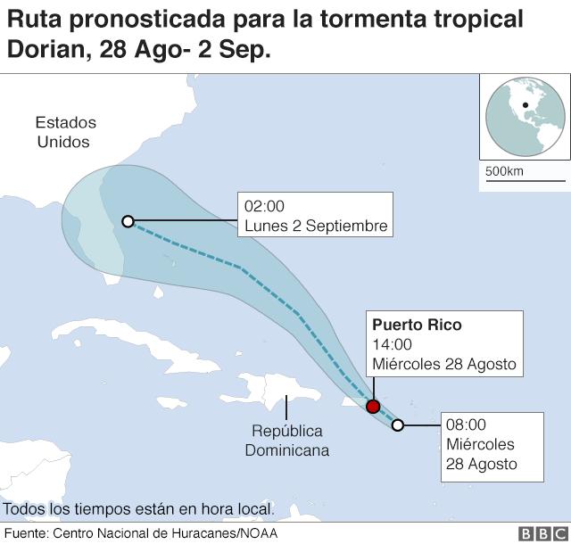 108525313 dorian storm spanish v2 640 nc - Alerta por Dorian: qué hacer ante la llegada de una tormenta tropical o huracán