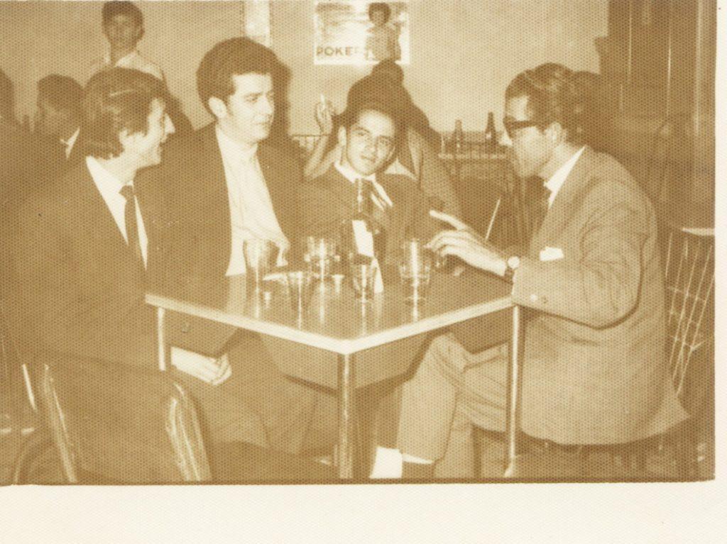 1970 Jairo García Orlando Cadavid Evelio Giraldo Luis Rivera 1024x767 1024x767 - Un reportero de lavar y planchar