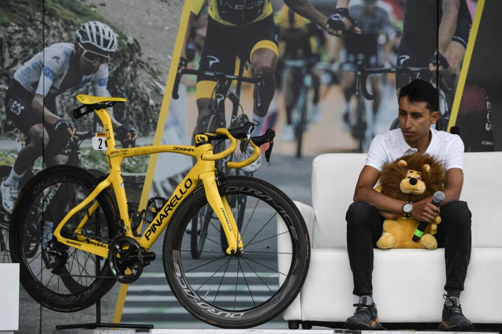 "egan si 0 - ""Lo único que anhelo es seguir montando bicicleta como un niño"": Egan Bernal"