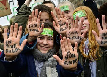 galeria protestas cambio climatico en el mundo 2 360x260 - La huelga mundial contra el cambio climático une a los jóvenes//YouTube//Foto Infobae.com