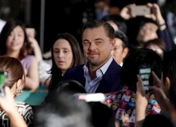 leonardo dicaprio efe 360x260 - Leonardo DiCaprio dona cinco millones de dólares para luchar contra incendios en el Amazonas