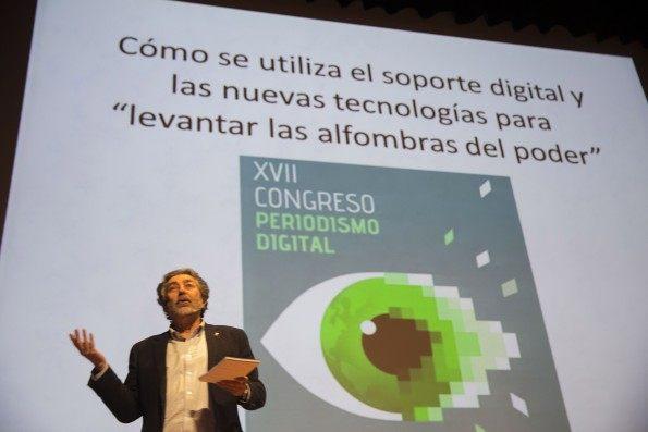 134 Congreso Periodismo Digital JaviBroto 595x397 - Supervivencia digital del Periodismo Independiente, de Verdad//YouTube//Foto:TreceBits.